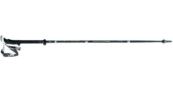 LEKI Micro Vario Carbon Strong - Bastones de trekking y senderismo - gris/negro